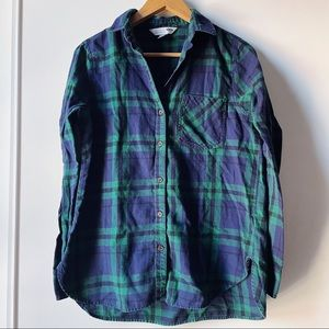 Old Navy The Classic Shirt plaid long sleeve
